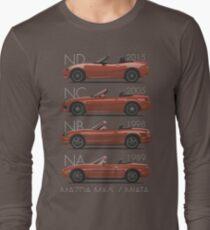 Mazda MX-5 evolution Long Sleeve T-Shirt