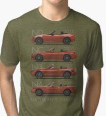Mazda MX-5 evolution Tri-blend T-Shirt