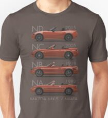 Mazda MX-5 evolution Unisex T-Shirt