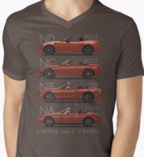 Mazda MX-5 evolution Men's V-Neck T-Shirt