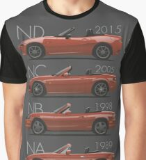 Mazda MX-5 evolution Graphic T-Shirt