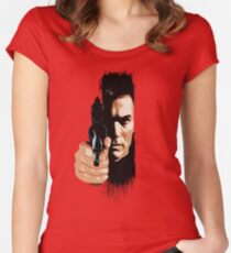 Clint Eastwood - Tightrope Women's Fitted Scoop T-Shirt