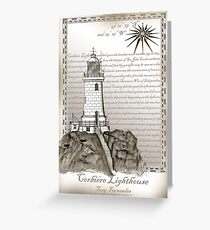 Corbiere Lighthouse 1, tony fernandes Greeting Card