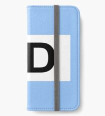 GERMANY CAR STICKER iPhone Wallet/Case/Skin