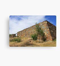 Stone Wall - Launceston, Tasmania 2013 Canvas Print