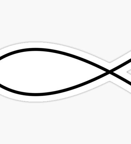 Christian Fish Sticker