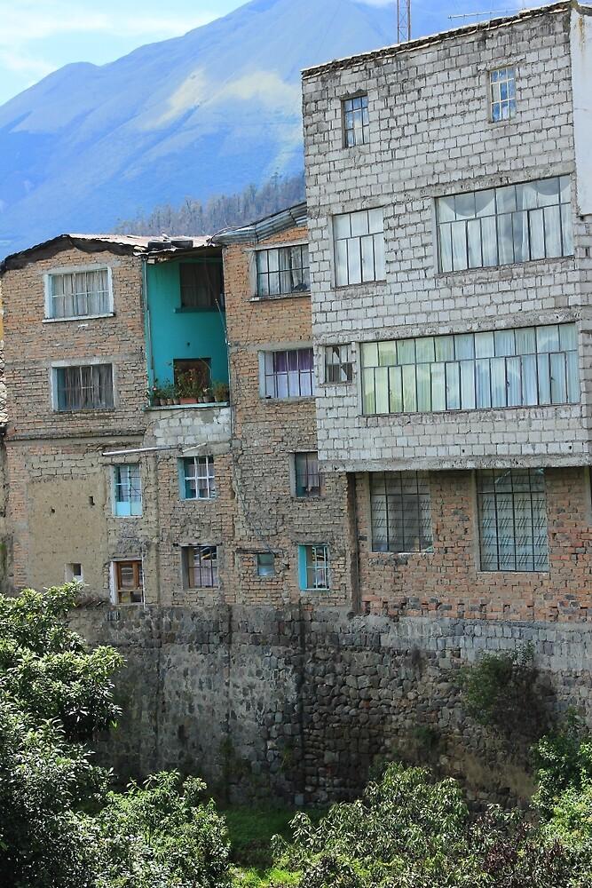 Brick Buildings by rhamm