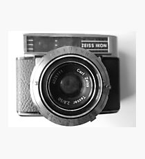 Carl Zeiss Contessa LBE Photographic Print