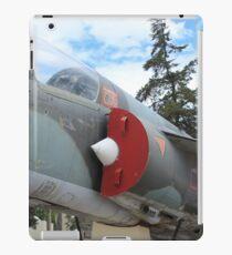 Military Jet on Display iPad Case/Skin