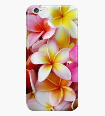 Plumeria Pink White Frangipani Tropical Hawaiian Flower Floral Fine Art iPhone 6 Case