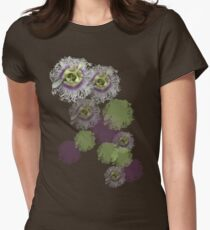 Passion Flower Womens Fitted T-Shirt