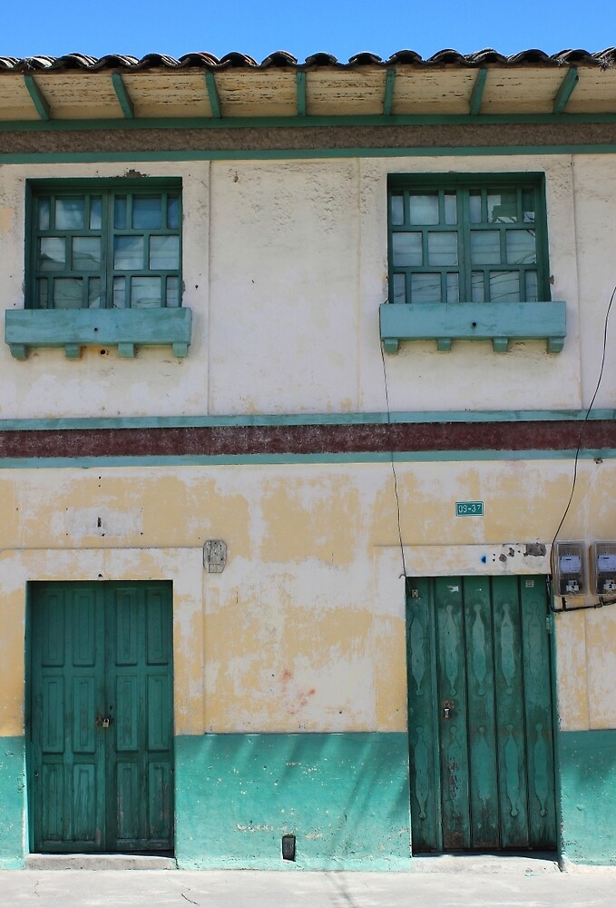 Green Windows and Doors by rhamm