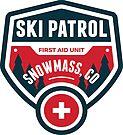 SKI SNOWMASS COLORADO Skiing Ski Patrol Mountain Art by MyHandmadeSigns