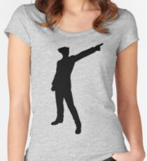 The Ace Attorney Women's Fitted Scoop T-Shirt