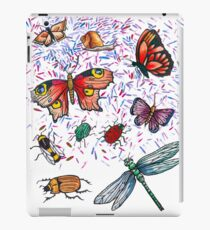 Butterfly & Insect Pattern iPad Case/Skin
