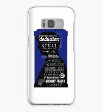 Wholock - A Study in Deduction Samsung Galaxy Case/Skin