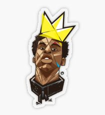 King Kunta - Kendrick Lamar Transparent Sticker