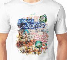 Graffiti Szimpla I Love Budapest Unisex T-Shirt