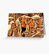 """""""The 8th Annual Clinch River Spring Antique Fair """"... prints and products Greeting Card"""
