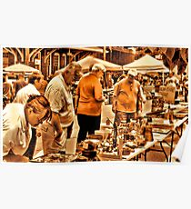"""""""The 8th Annual Clinch River Spring Antique Fair """"... prints and products Poster"""