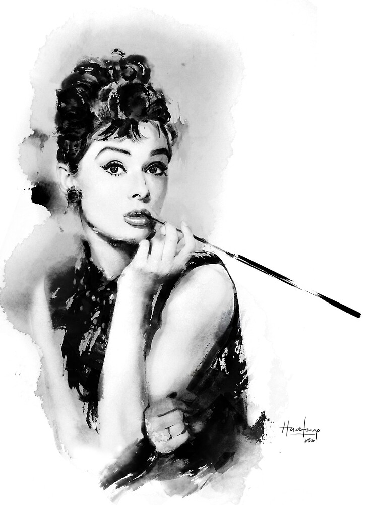 Audrey Hepburn by hazelong