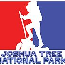 Hike Hiking JOSHUA TREE CALIFORNIA National Park Red White Blue by MyHandmadeSigns