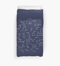 Constellations go with you Duvet Cover