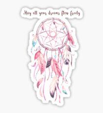 Dreamcatcher in Pink Sticker
