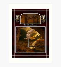 Celtic Arthurian Legends Art Print