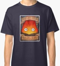 Studio Ghibli Illustration: CALCIFER #2 Classic T-Shirt