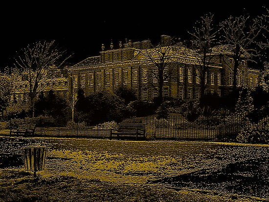 Kensington Palace And Grounds by Vy Solomatenko