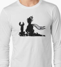 The LITTLE PRINCE and the FOX - stencil grey version T-Shirt