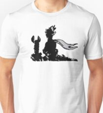 The LITTLE PRINCE and the FOX - stencil grey version Unisex T-Shirt