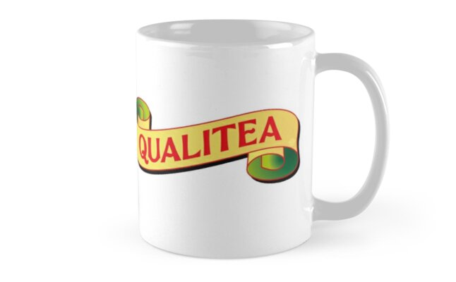 Qualitea mug by Carter & Rickard