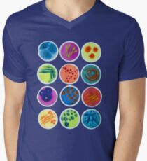 Petri Dishes  V-Neck T-Shirt