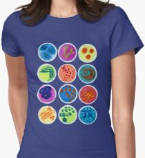 Petri Dishes  Women's Fitted T-Shirt