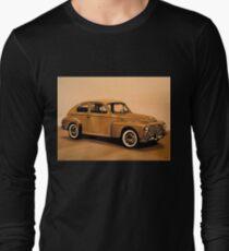 Volvo PV Painting Long Sleeve T-Shirt