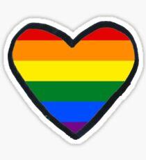 Heart gay Sticker