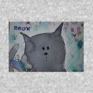 grey cat by narrowboatexp