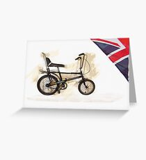 1979 Raleigh Chopper Greeting Card