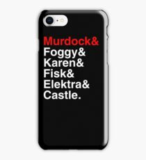 Daredevil iPhone Case/Skin