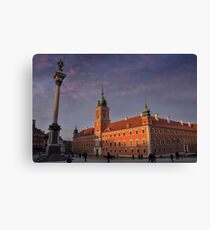 Royal Castle Warsaw Old Town Canvas Print