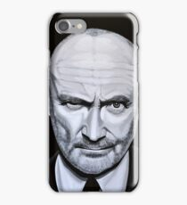 Phil Collins painting iPhone Case/Skin
