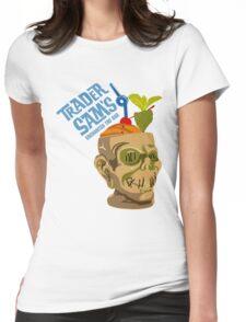 Tiki Bar Womens Fitted T-Shirt