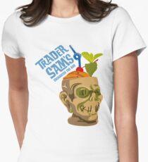 Tiki Bar Women's Fitted T-Shirt