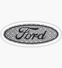 Ford Diamantplatte Sticker