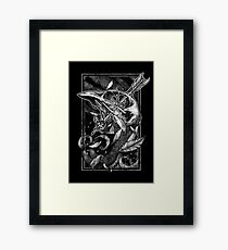 Black Bird Framed Print