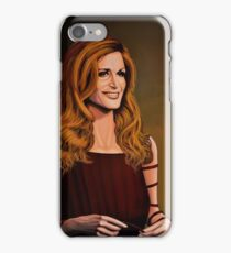 Dalida painting iPhone Case/Skin