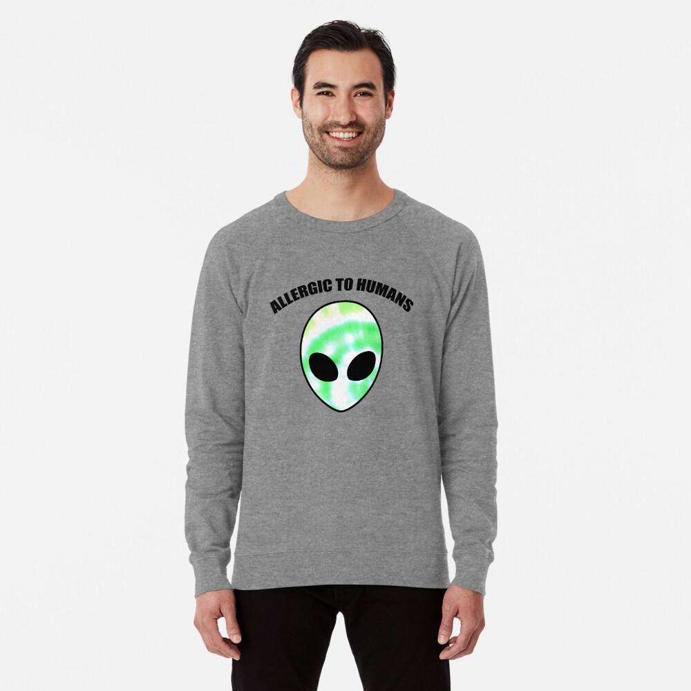 Allergiker für Menschen - Tie Dye Alien Print Leichter Pullover
