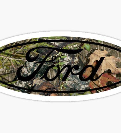 Ford Mossy Oak Sticker